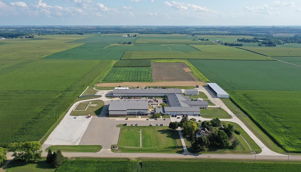 Sede da Precision Planting, LLC,  localizada na Cidade de Tremont, Illinois, Estados Unidos